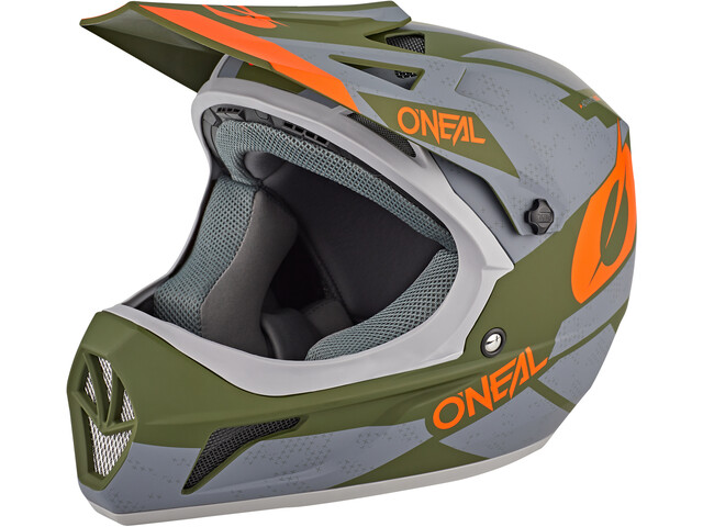 O'Neal Sonus Casque Deft, gray/olive/orange